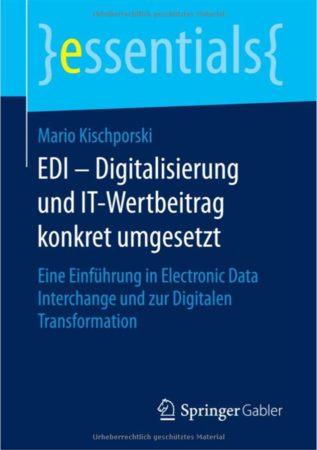 Buchcover: EDI - Digitalisierung und IT-Wertbeitrag konkret umgesetzt